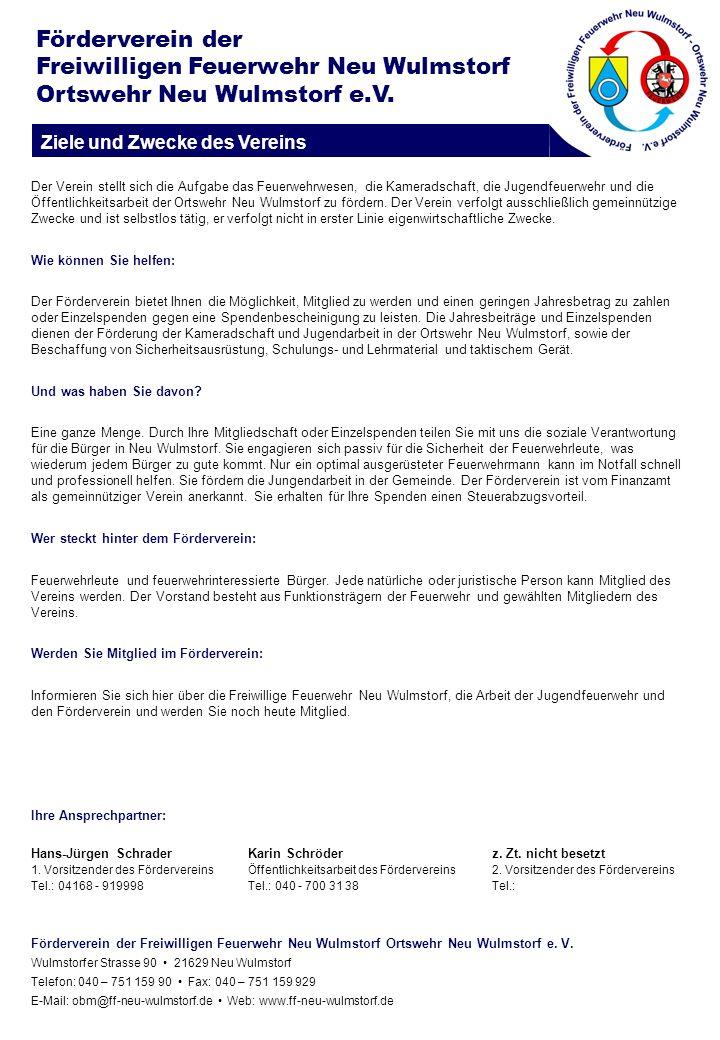 Freiwilligen Feuerwehr Neu Wulmstorf Ortswehr Neu Wulmstorf e.V.