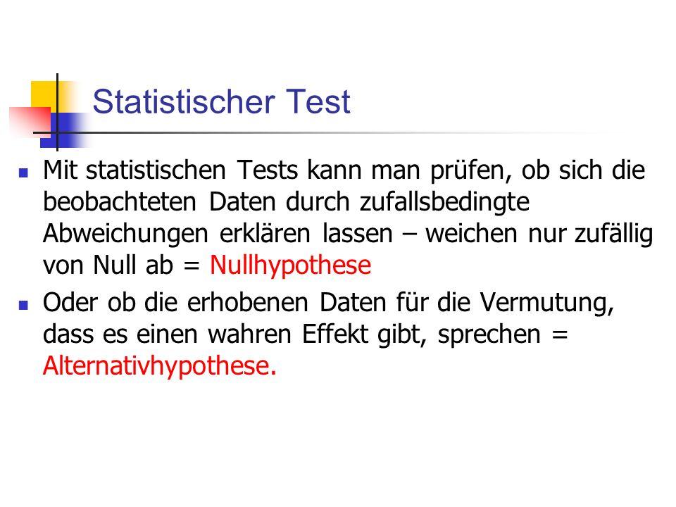 Statistischer Test