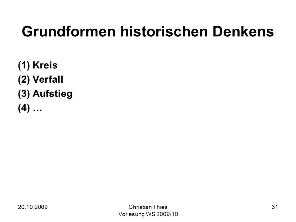 Grundformen historischen Denkens