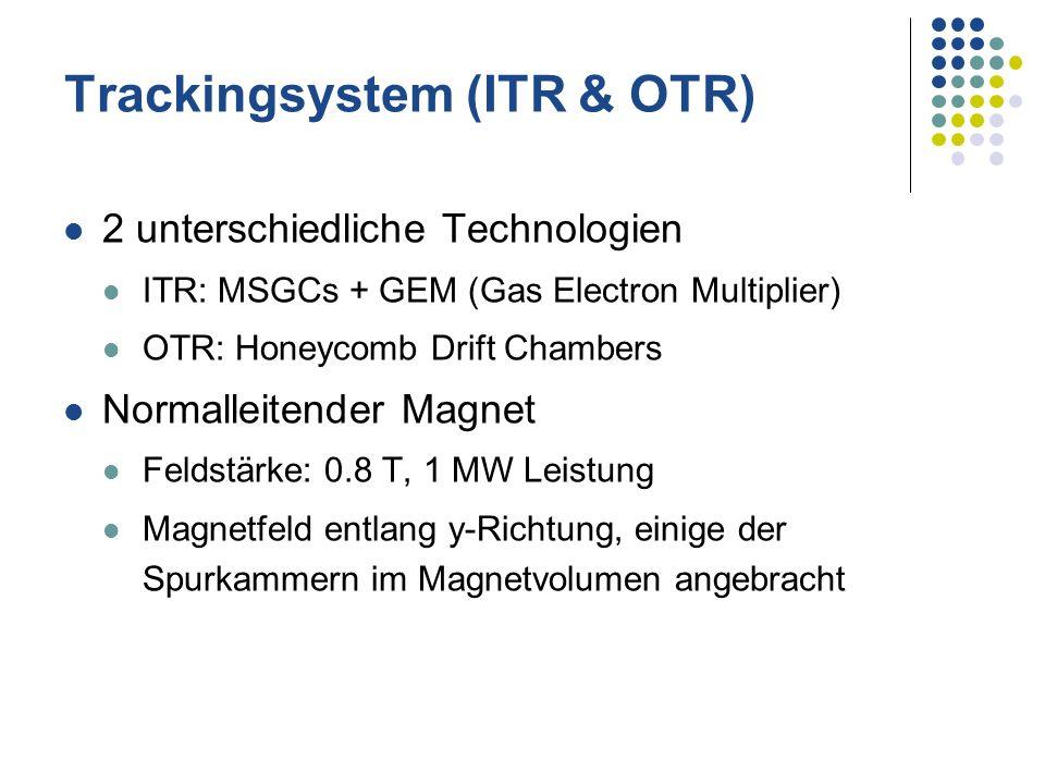 Trackingsystem (ITR & OTR)