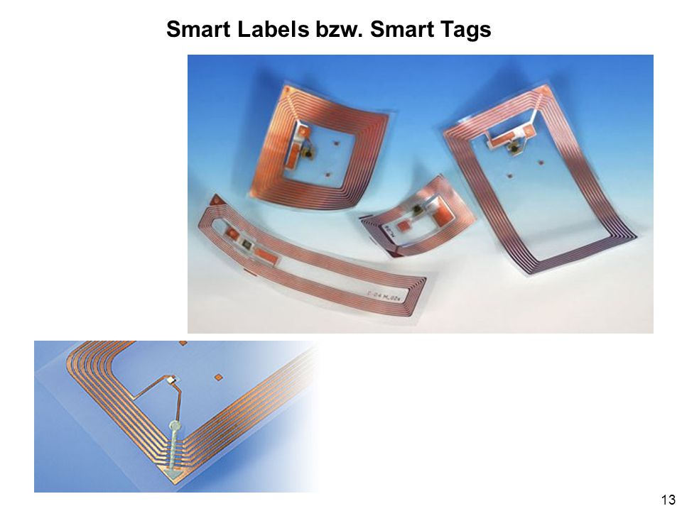 Smart Labels bzw. Smart Tags