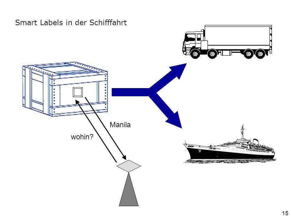Smart Labels in der Schifffahrt