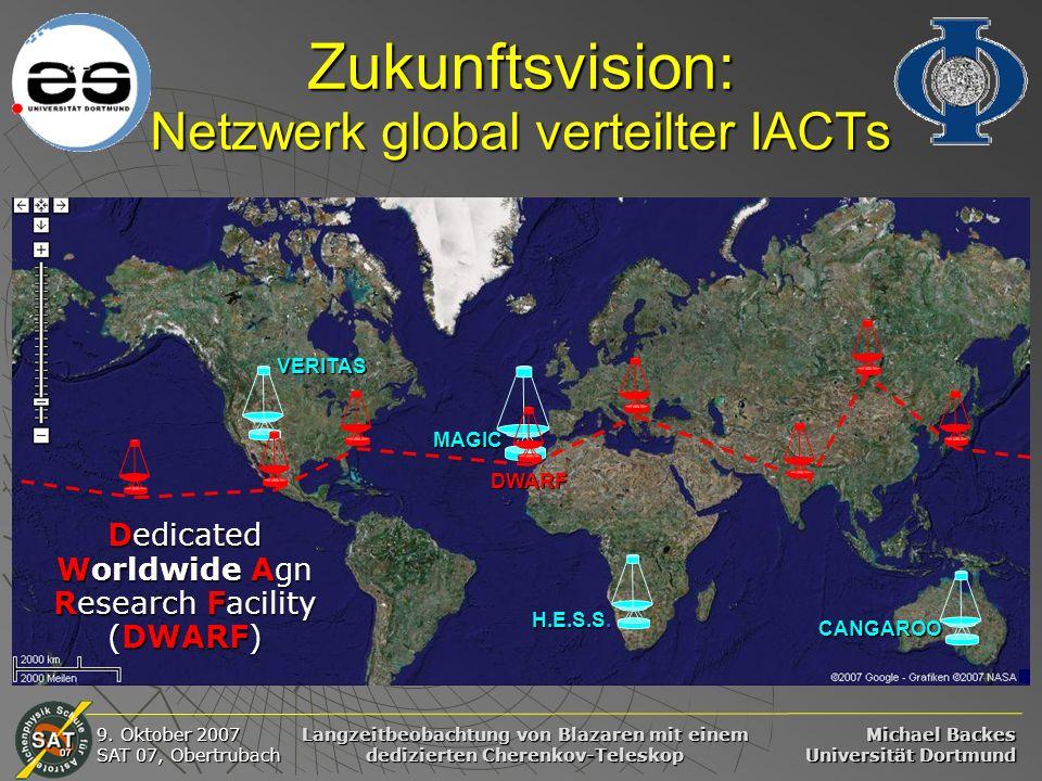 Zukunftsvision: Netzwerk global verteilter IACTs