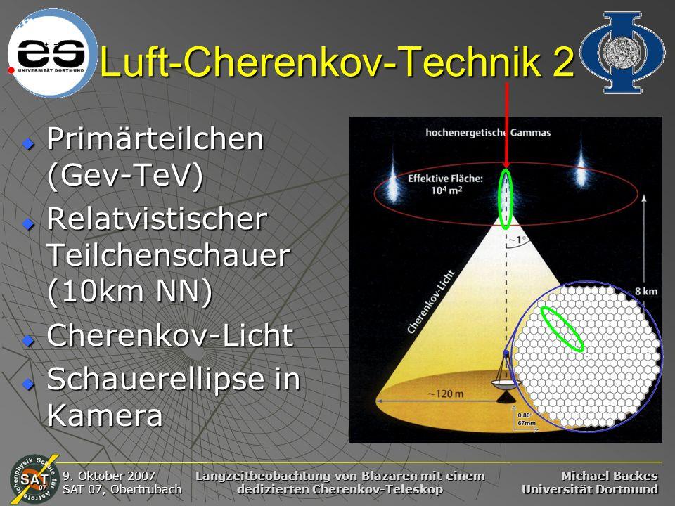 Luft-Cherenkov-Technik 2