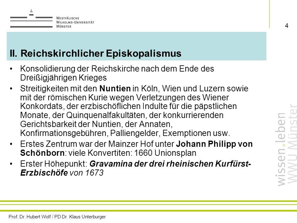 II. Reichskirchlicher Episkopalismus
