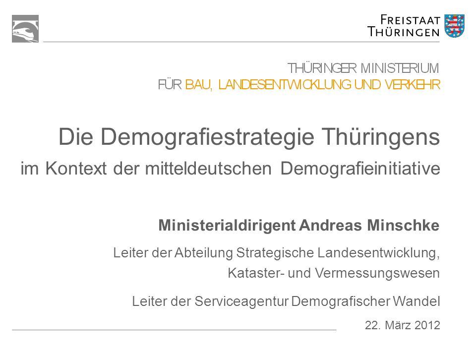 Ministerialdirigent Andreas Minschke