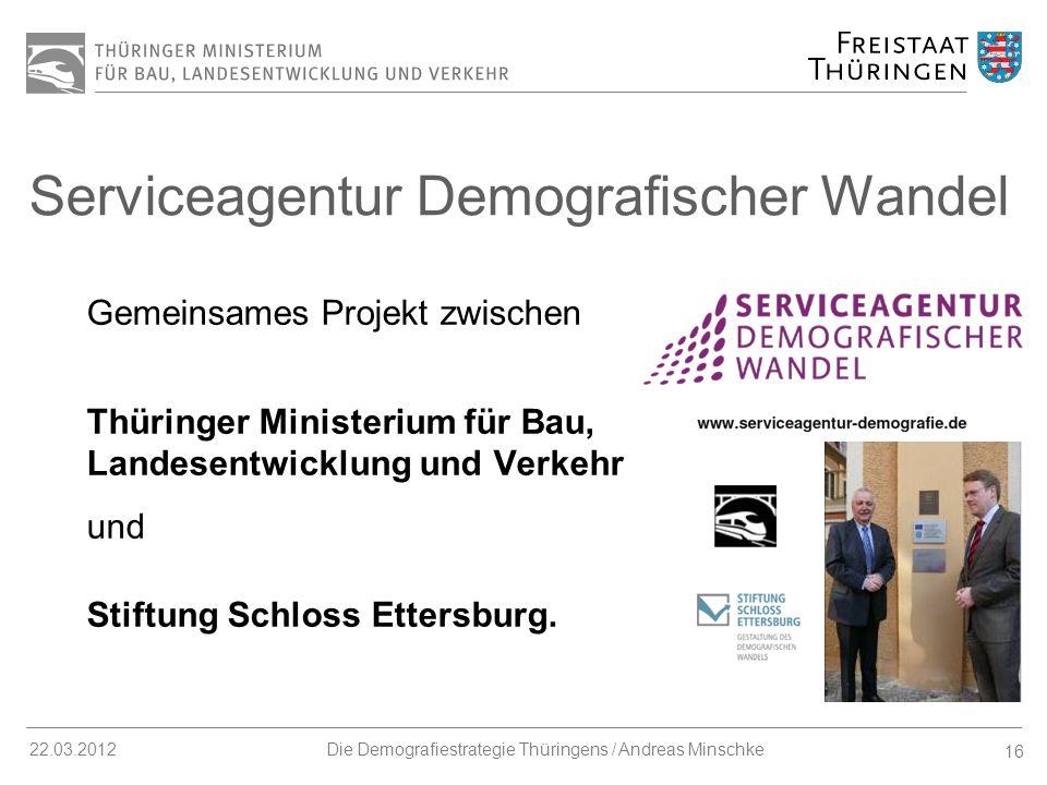 Serviceagentur Demografischer Wandel