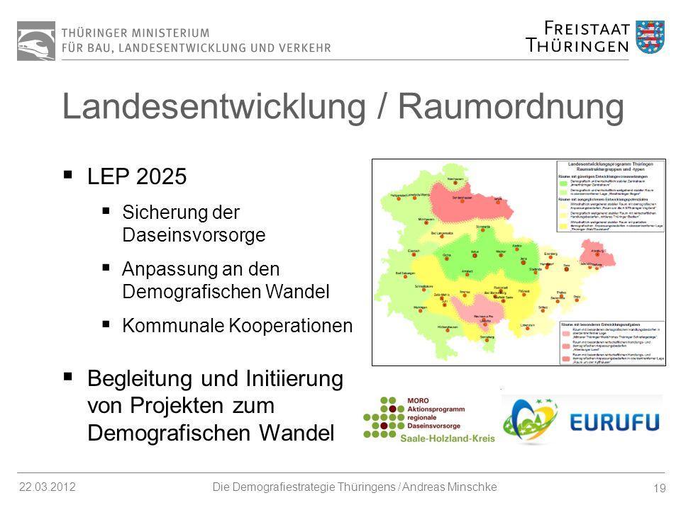 Landesentwicklung / Raumordnung
