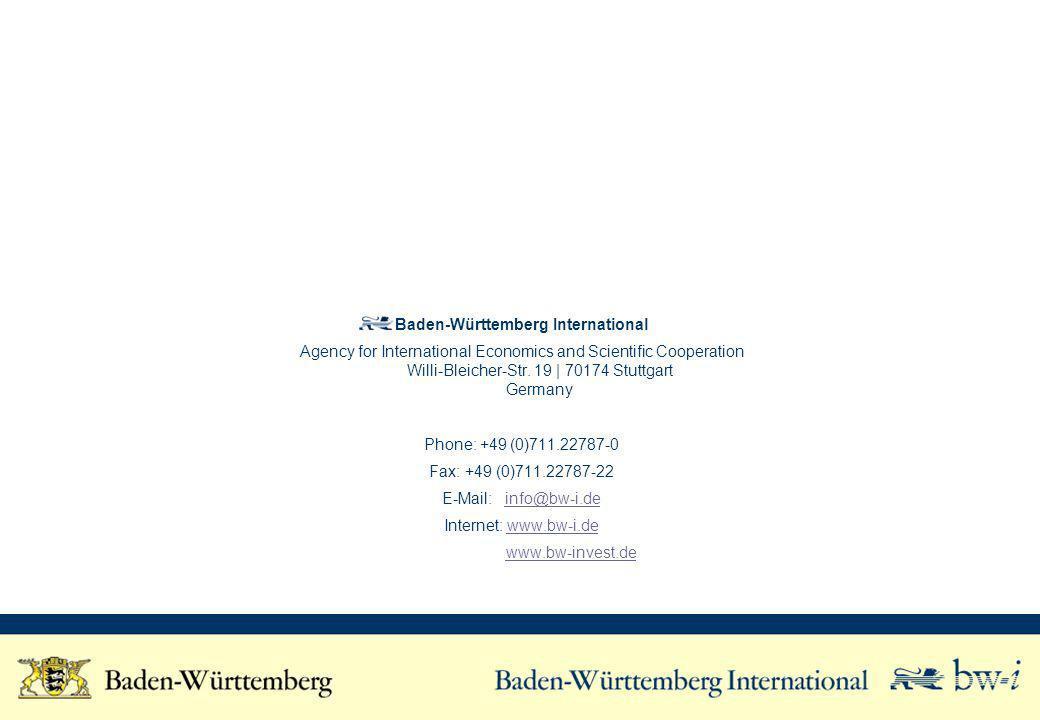 Baden-Württemberg International
