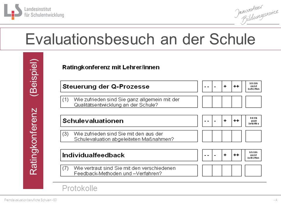 Ratingkonferenz (Beispiel)
