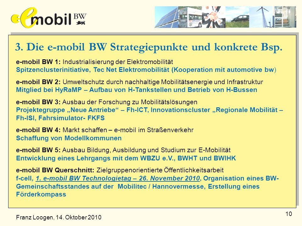 3. Die e-mobil BW Strategiepunkte und konkrete Bsp.