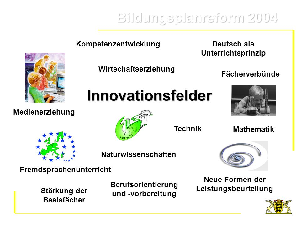 Innovationsfelder Kompetenzentwicklung Deutsch als Unterrichtsprinzip