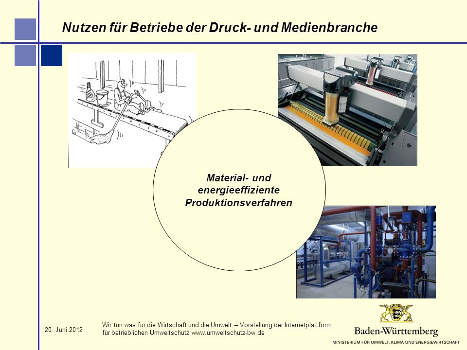 Material- und energieeffiziente Produktionsverfahren