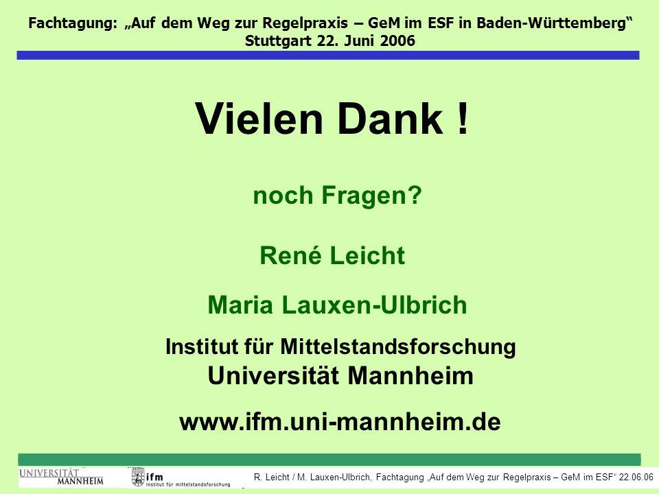 Institut für Mittelstandsforschung Universität Mannheim