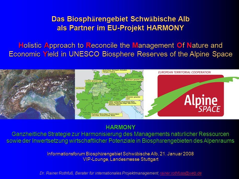 Das Biosphärengebiet Schwäbische Alb