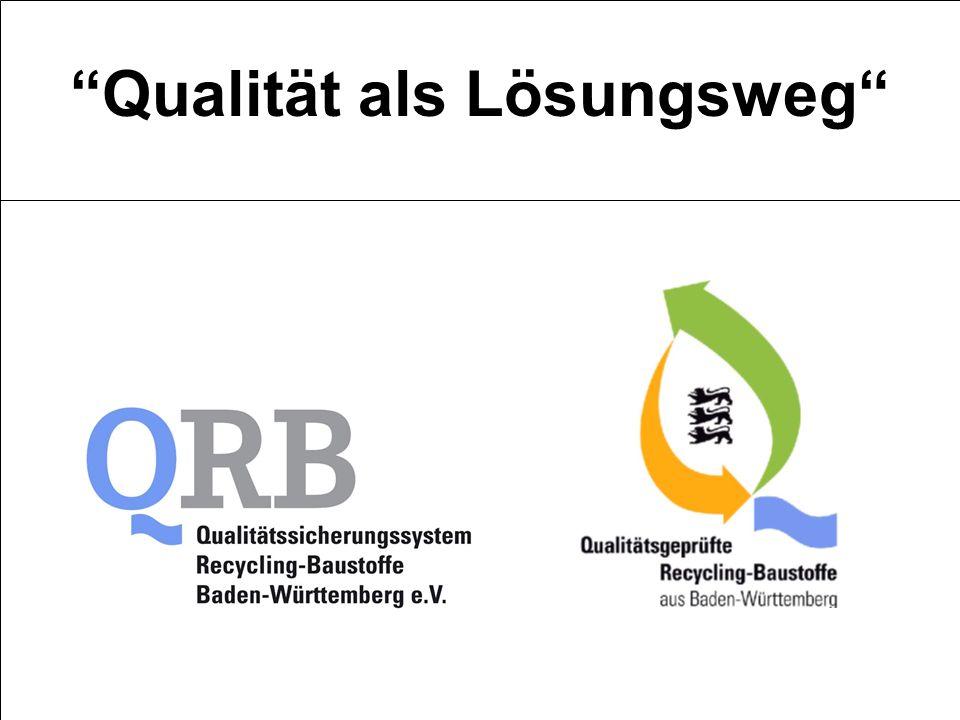Qualität als Lösungsweg