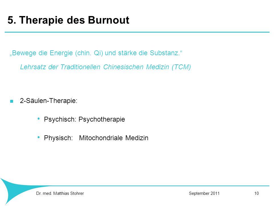 """5. Therapie des Burnout""""Bewege die Energie (chin. Qi) und stärke die Substanz. Lehrsatz der Traditionellen Chinesischen Medizin (TCM)"""