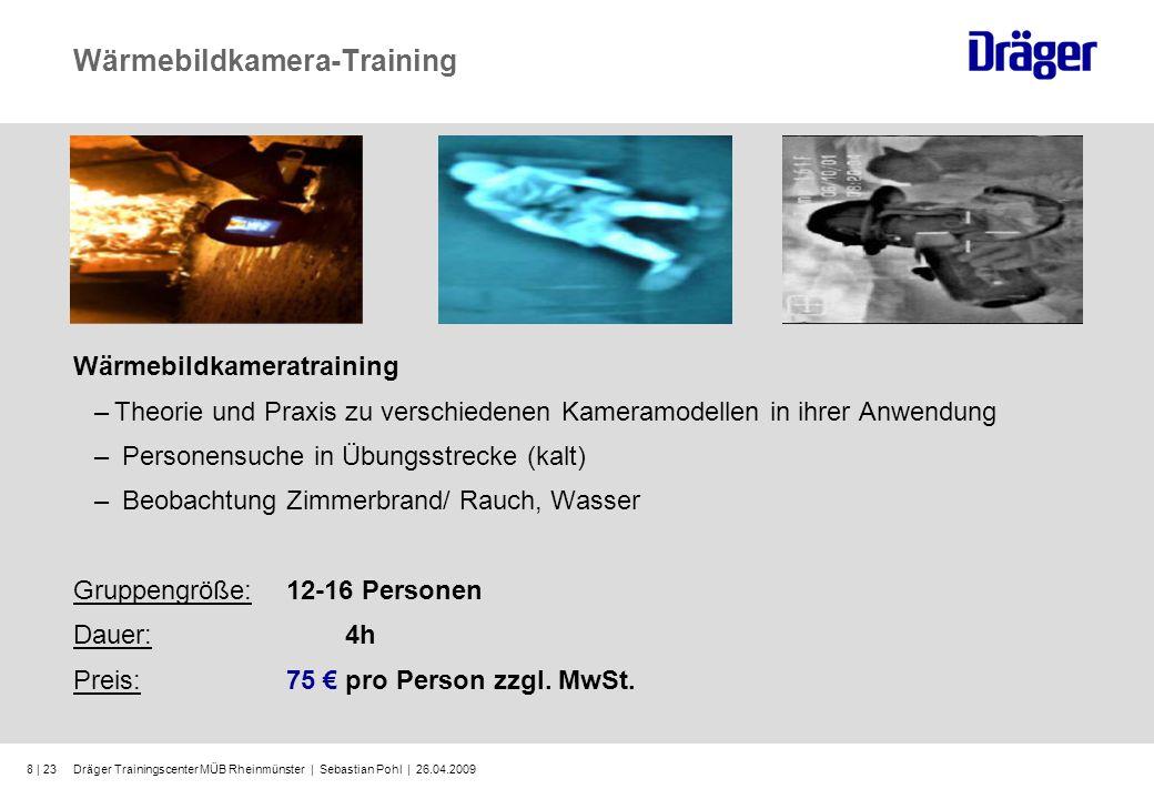 Wärmebildkamera-Training