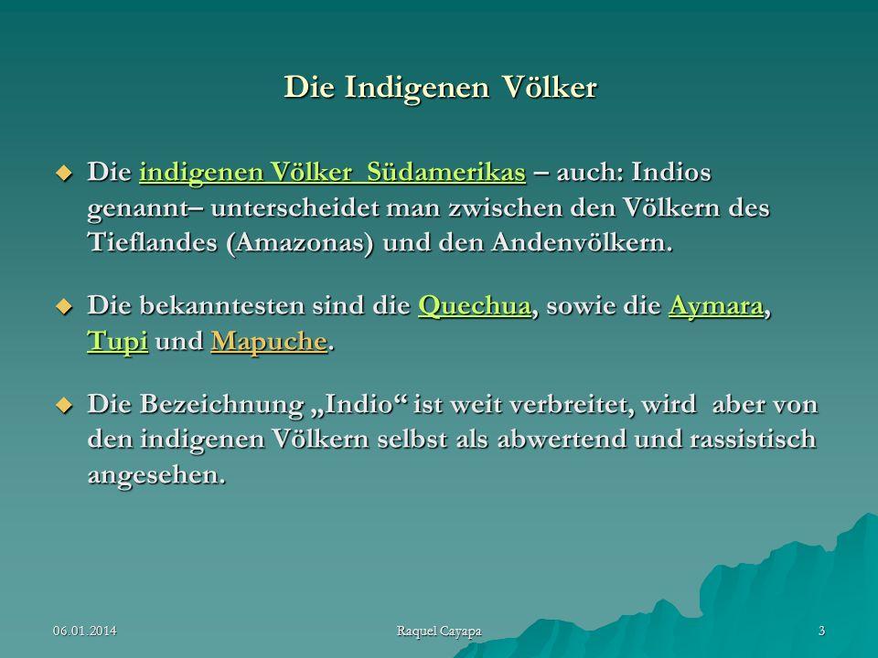 Die Indigenen Völker