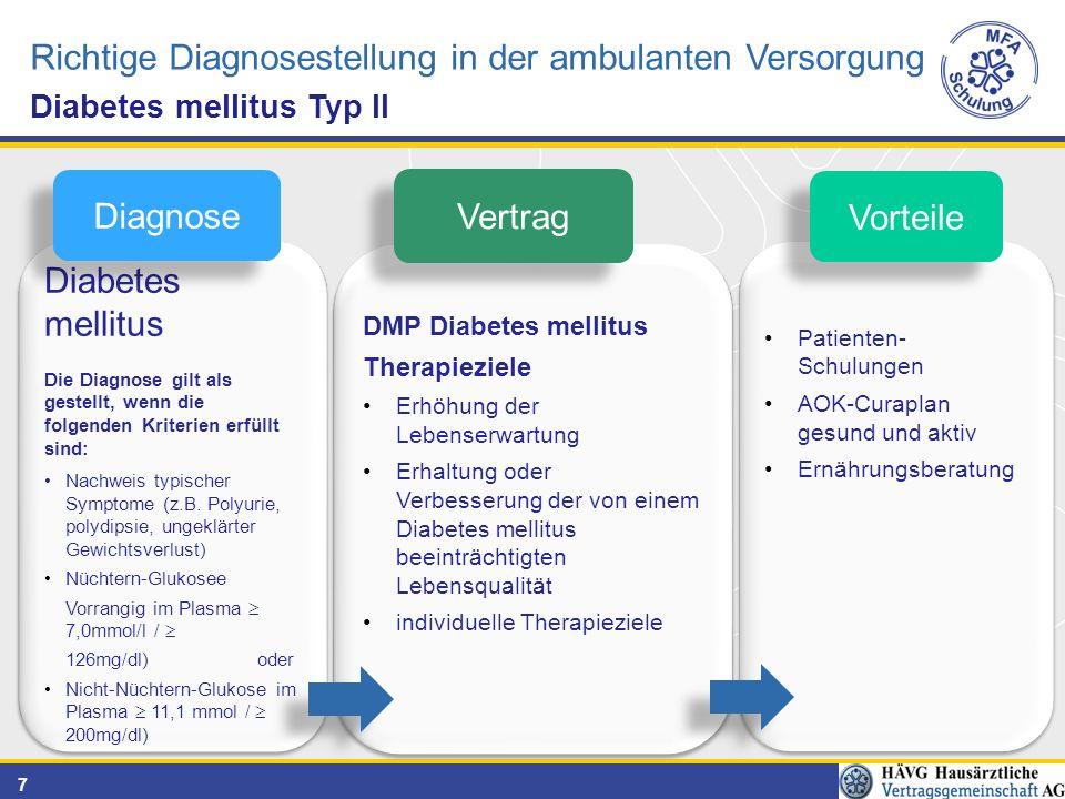 Richtige Diagnosestellung in der ambulanten Versorgung