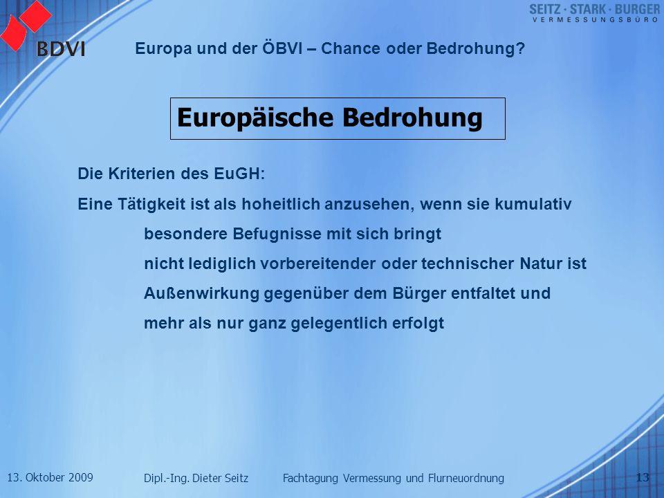 Europäische Bedrohung