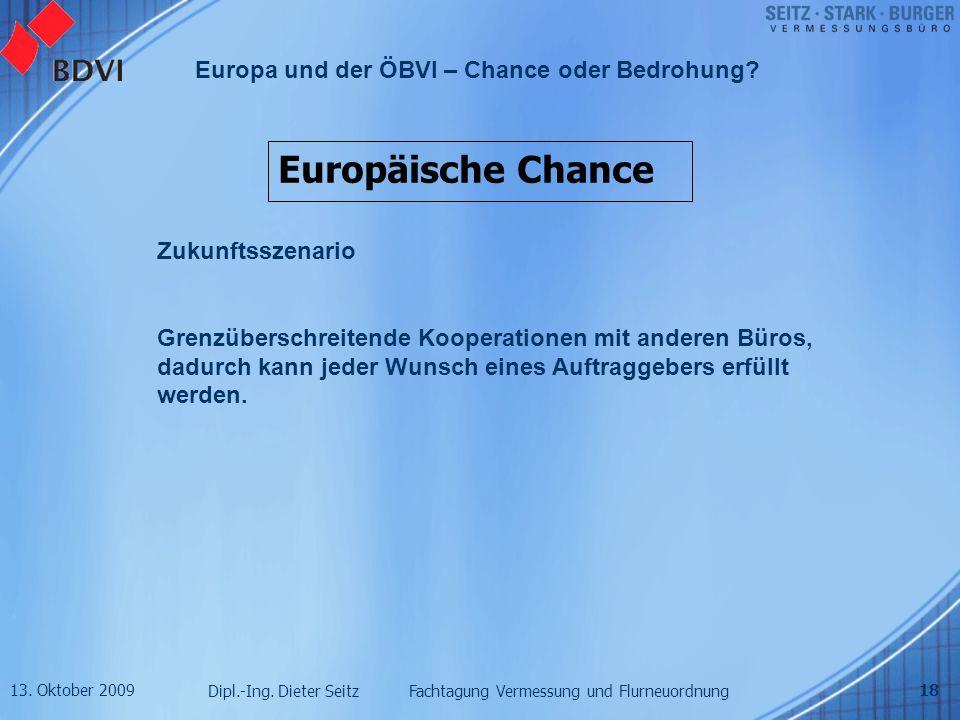Europäische Chance Zukunftsszenario