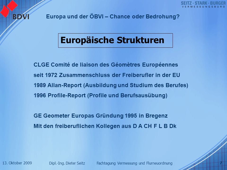 Europäische Strukturen