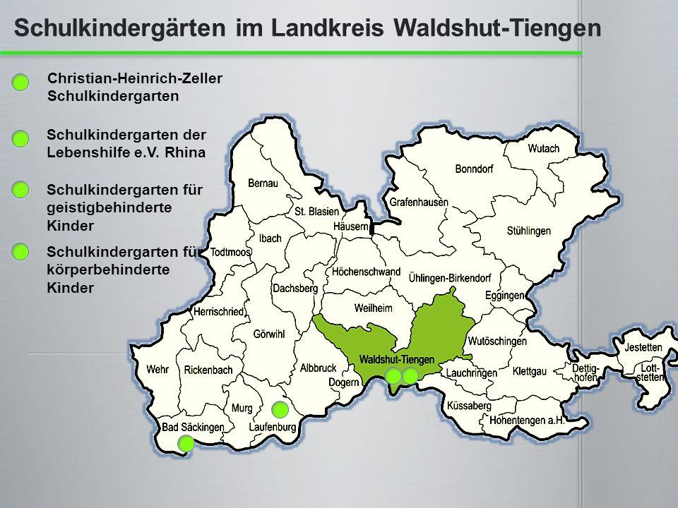Schulkindergärten im Landkreis Waldshut-Tiengen