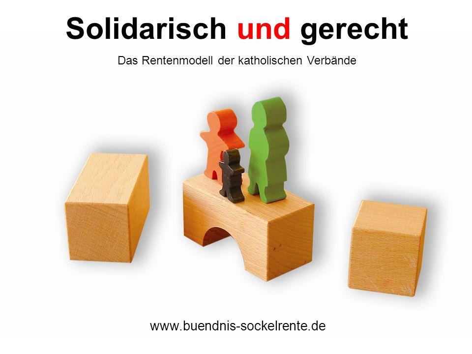 Solidarisch und gerecht