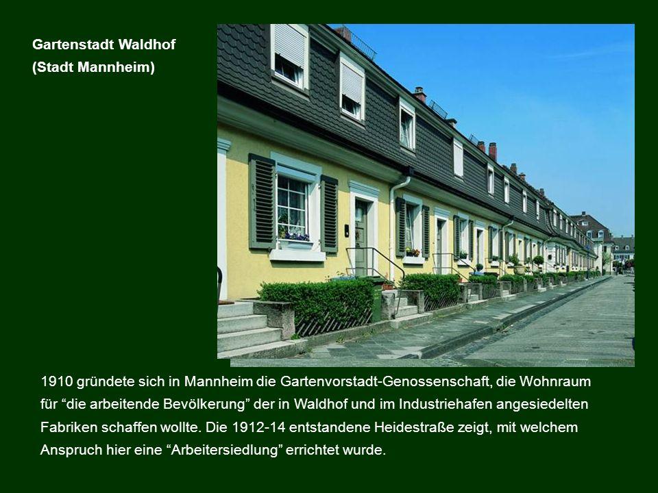 Gartenstadt Waldhof (Stadt Mannheim)