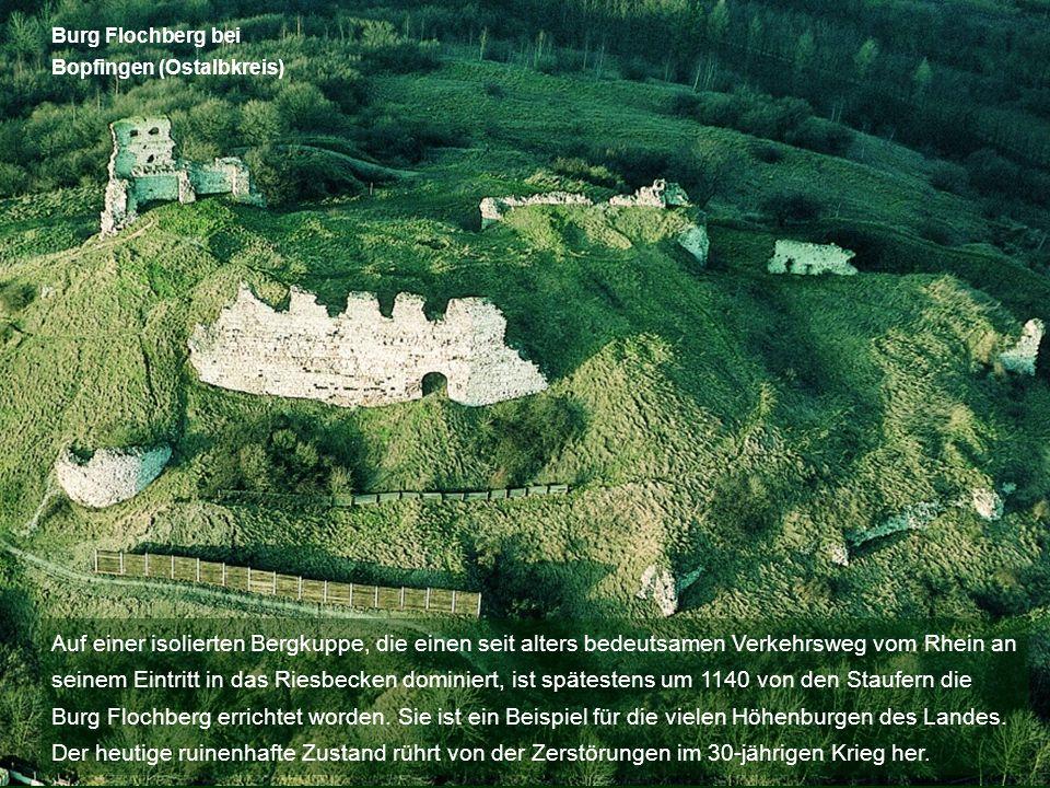 Burg Flochberg bei Bopfingen (Ostalbkreis)