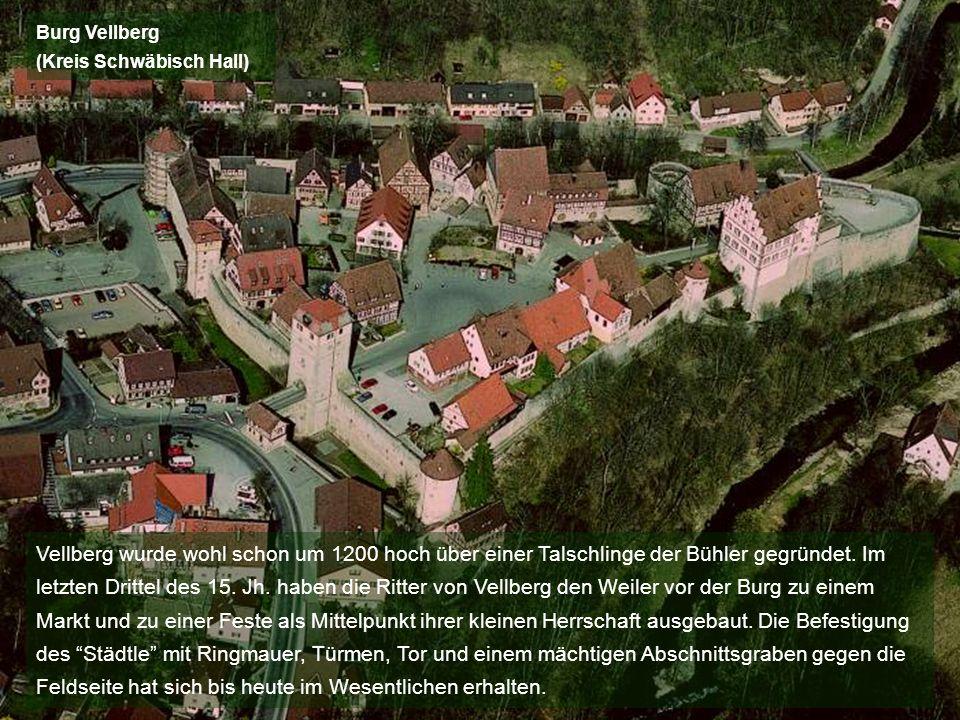 Burg Vellberg (Kreis Schwäbisch Hall)