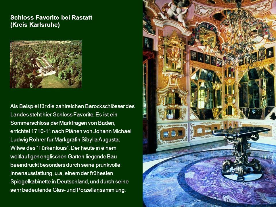 Schloss Favorite bei Rastatt (Kreis Karlsruhe)