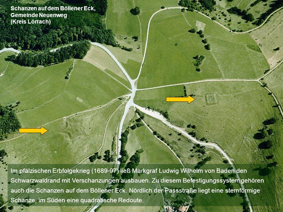 Schanzen auf dem Böllener Eck, Gemeinde Neuenweg