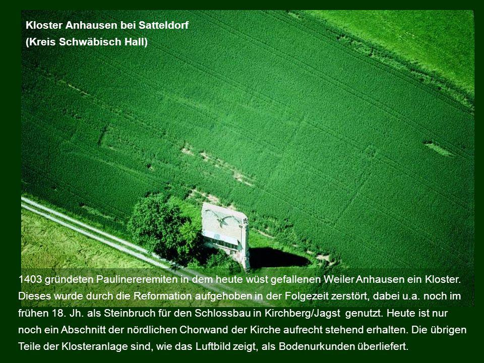 Kloster Anhausen bei Satteldorf