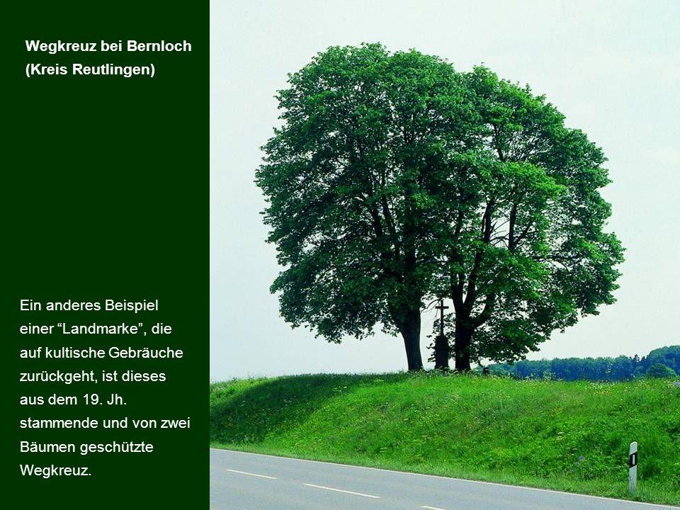 Wegkreuz bei Bernloch (Kreis Reutlingen)