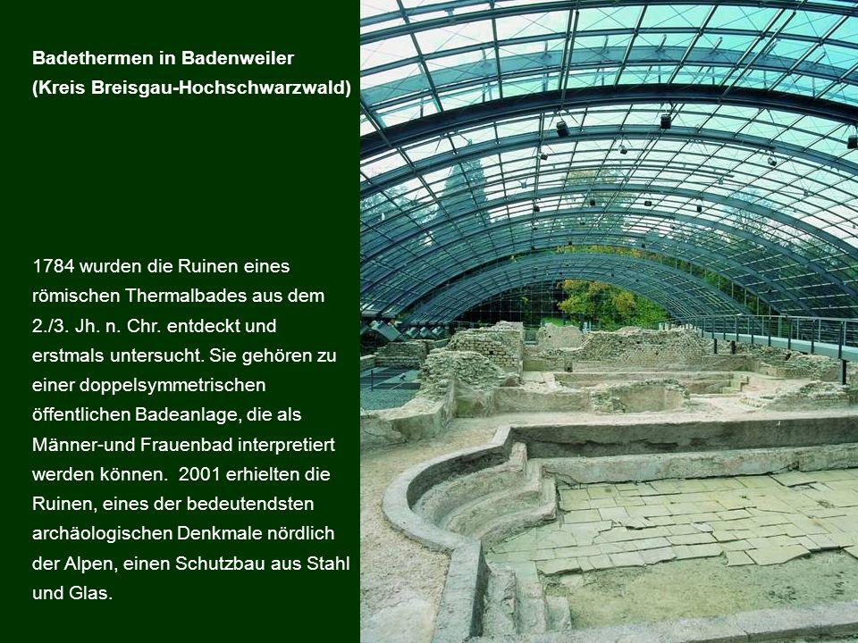 Badethermen in Badenweiler
