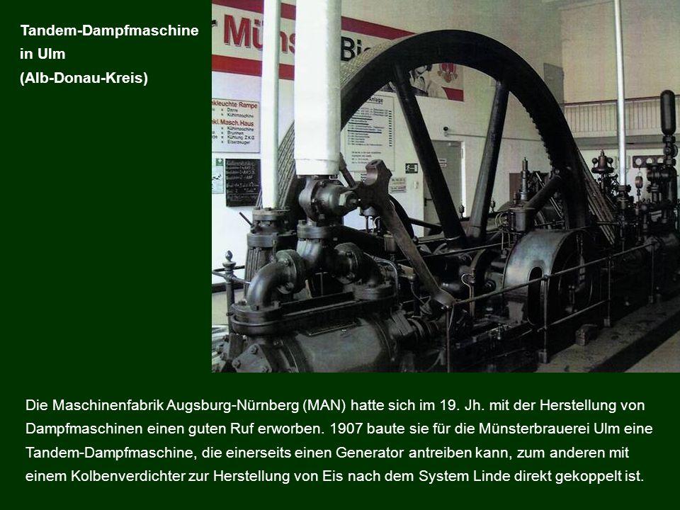 Tandem-Dampfmaschine