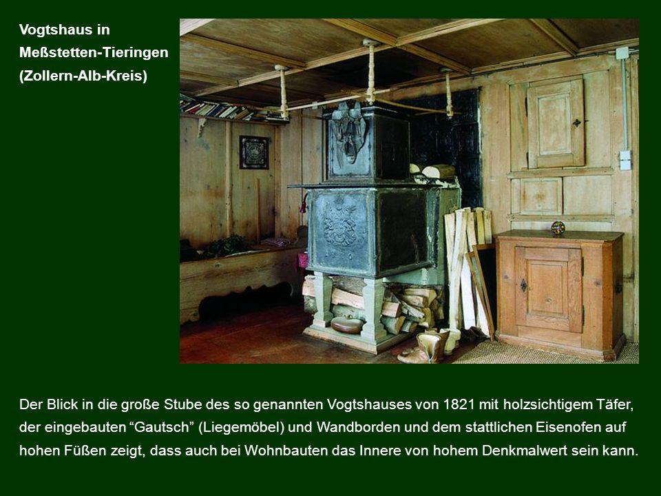Vogtshaus in Meßstetten-Tieringen. (Zollern-Alb-Kreis)