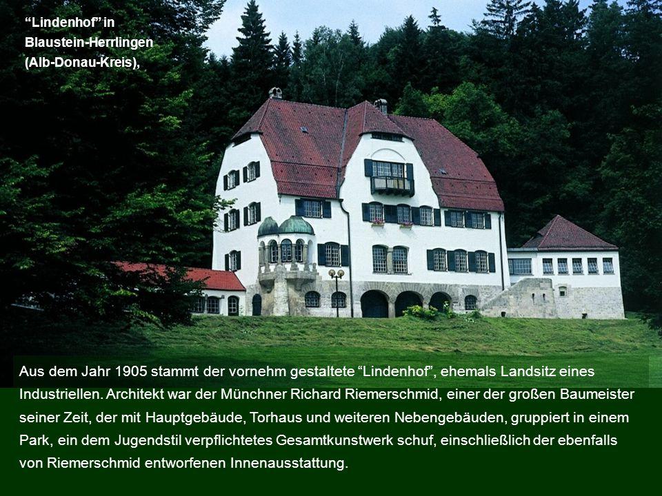 Lindenhof in Blaustein-Herrlingen. (Alb-Donau-Kreis),