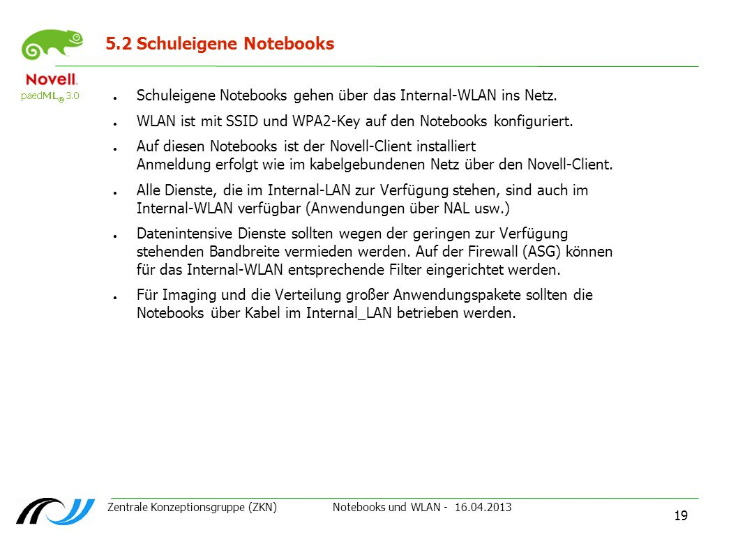 5.2 Schuleigene Notebooks