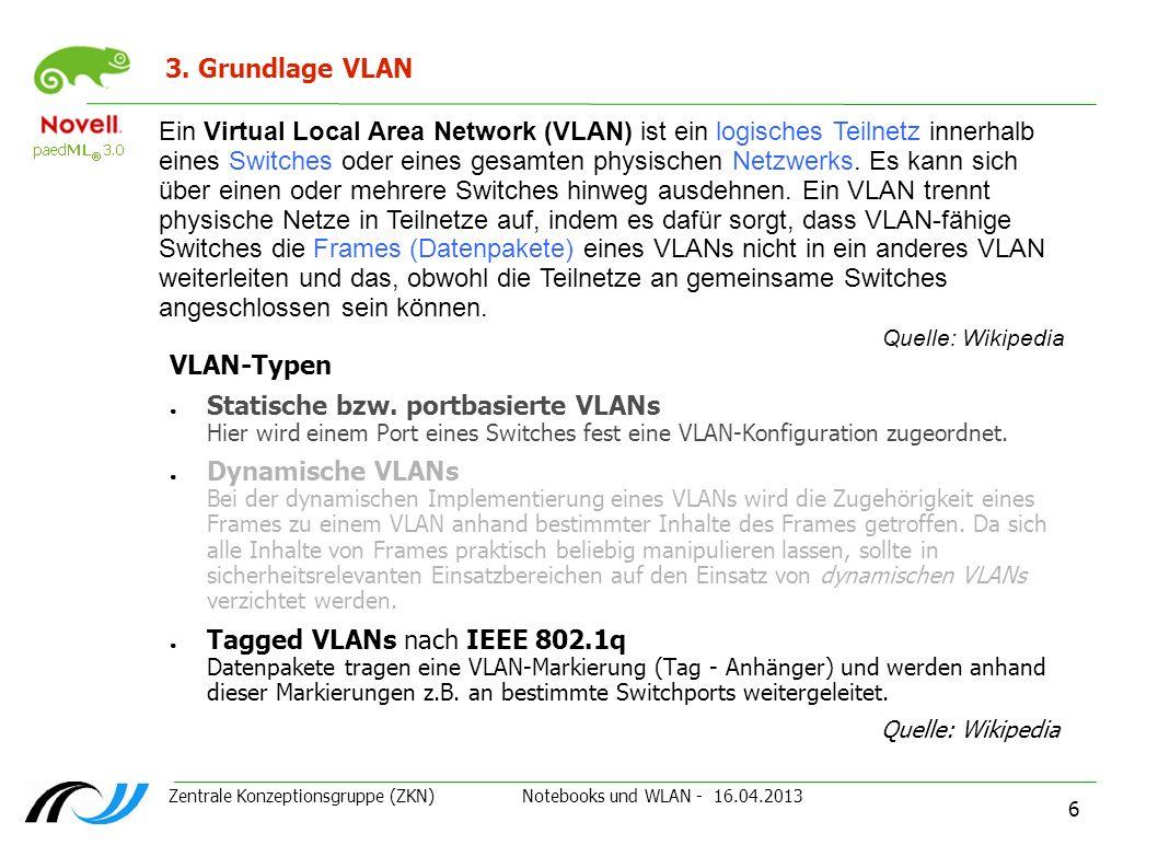3. Grundlage VLAN