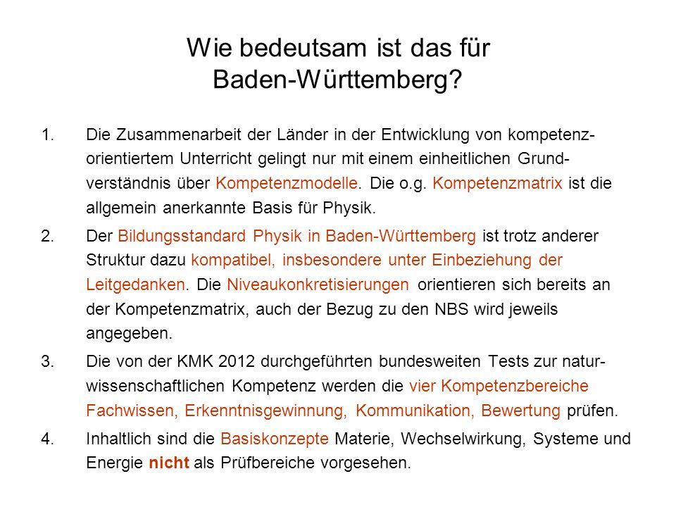 Wie bedeutsam ist das für Baden-Württemberg