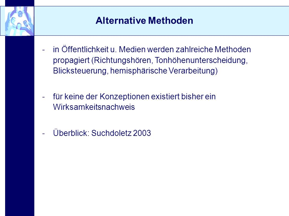 Alternative Methoden