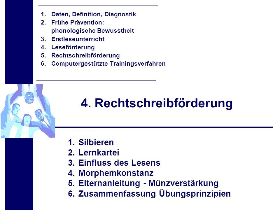 4. Rechtschreibförderung