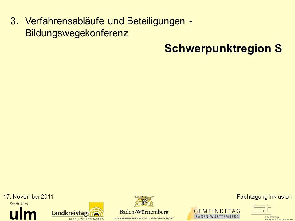 Verfahrensabläufe und Beteiligungen - Bildungswegekonferenz