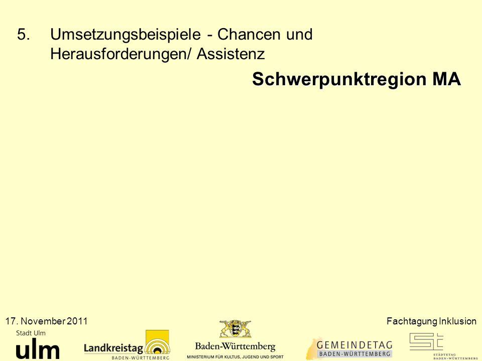 Umsetzungsbeispiele - Chancen und Herausforderungen/ Assistenz