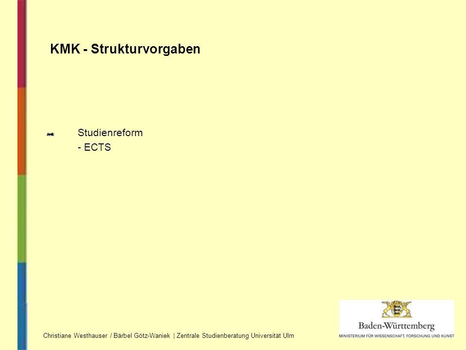 KMK - Strukturvorgaben