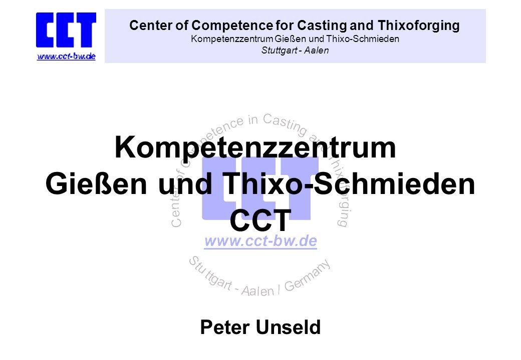Kompetenzzentrum Gießen und Thixo-Schmieden CCT