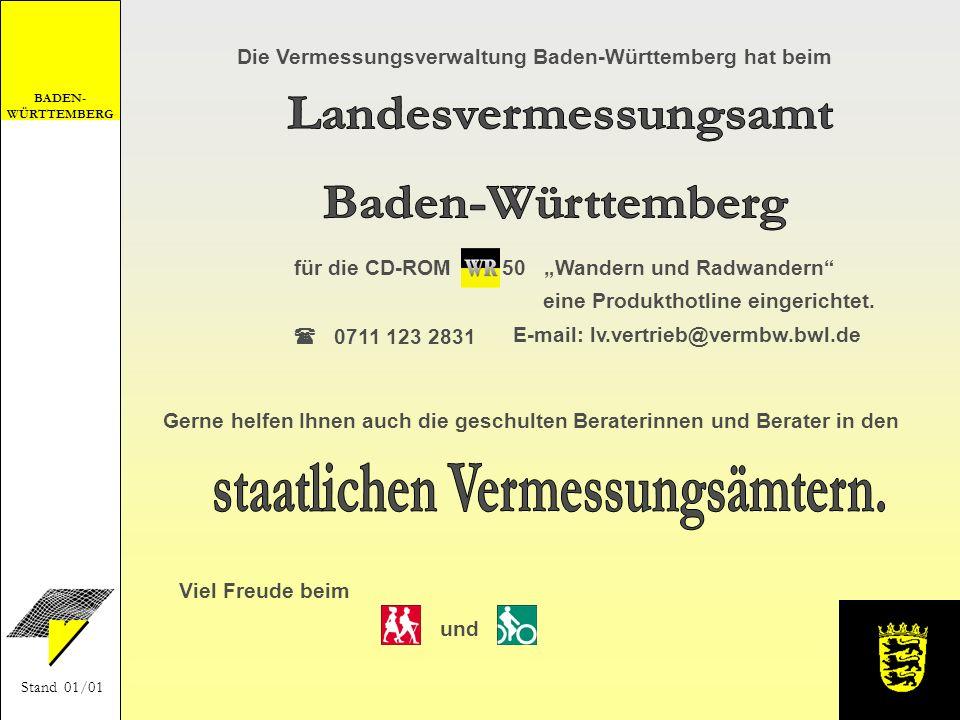 Landesvermessungsamt Baden-Württemberg staatlichen Vermessungsämtern.